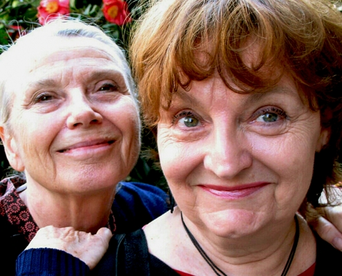 Maggie Davies Shelagh Stuchbery