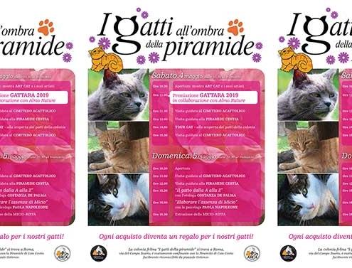 I gatti della Piramide: adozioni, incontri, arte felina