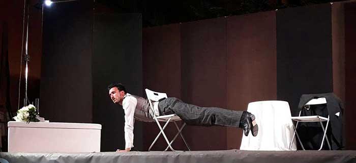 """Teatro Garbatella presenta """"Oggi sposo"""" di Matteo Cirillo."""