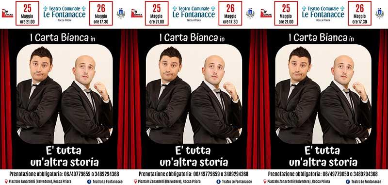 Teatro Comunale Le Fontanacce, I Carta Bianca