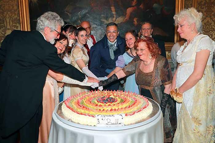 Pinacoteca del Tesoriere si è svolto lo Spring Regency Ball con la Compagnia Nazionale di Danza Storica.