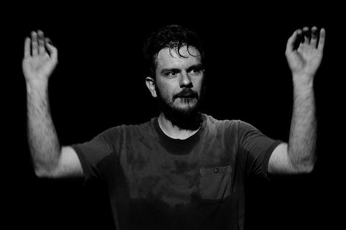 """Teatro Vascello presenta """"Blu tramonto"""" scritto da Luigi Belpulsi,"""