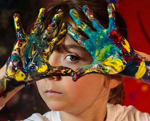 """Museo delle Civiltà, """"Lunga Vita Festival"""" incontra l'artista Aelita Andre."""