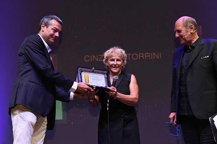 """Roma, Teatro Manzoni prima edizione """"La Pellicola d'Oro – Serie TV."""