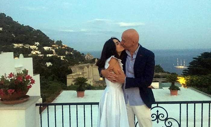 Capri, Matrimonio da sogno dell'attrice Tiziana Buldini con l'avv. Ciro Pellegrino.