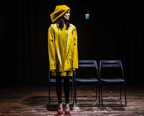 Teatro Stabile di Roma Amandine Delclos vince il premio come Miglor Attore