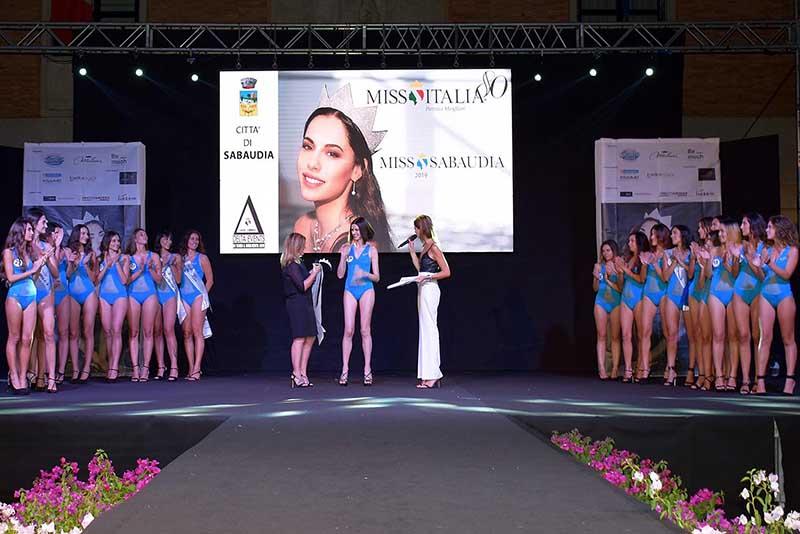 Miss Italia, Francesca Luna è Miss Sabaudia.