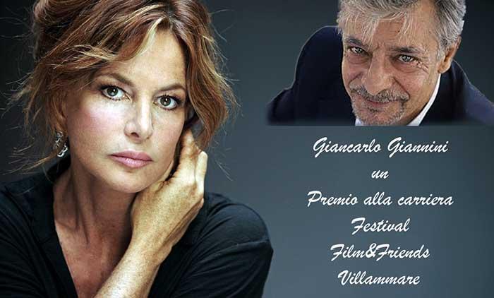 """Giancarlo Giannini Premio alla carriera a """"Villammare Film Festival 2019""""."""