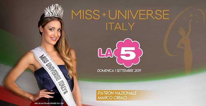 """""""Miss Universe Italy 2019"""" a Cinecittà World la finale Nazionale."""