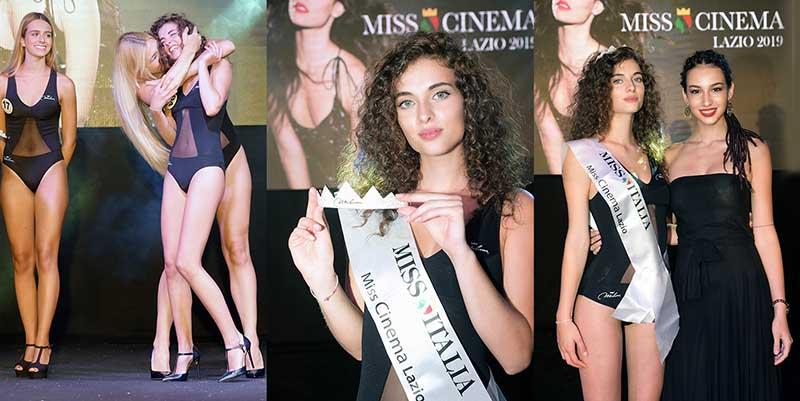 A Sabaudia Ilaria Del Vescovo è Miss Cinema Lazio.