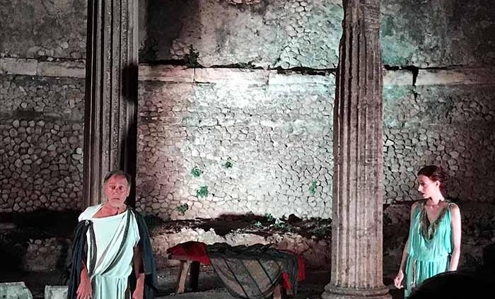"""Palestrina, Terrazze del Santuario della Fortuna Primigenia presenta """"Sorti e Sortilegi""""."""