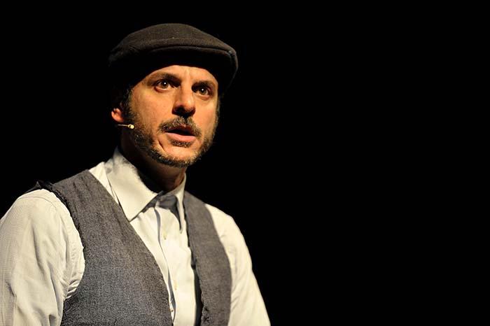 """Al Teatro Ghione va in scena """"Ago Capitano silenzioso""""."""