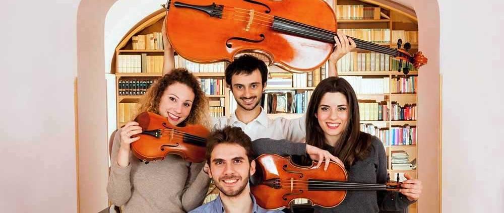 """Quartetto Werther con Mozart e Schumann chiudono """"Note in Biblioteca""""."""