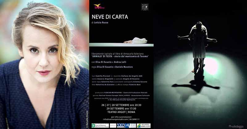 Al Teatro Argot Studio Florian Metateatro in collaborazione con Hypsis - Associazione Culturale ACS