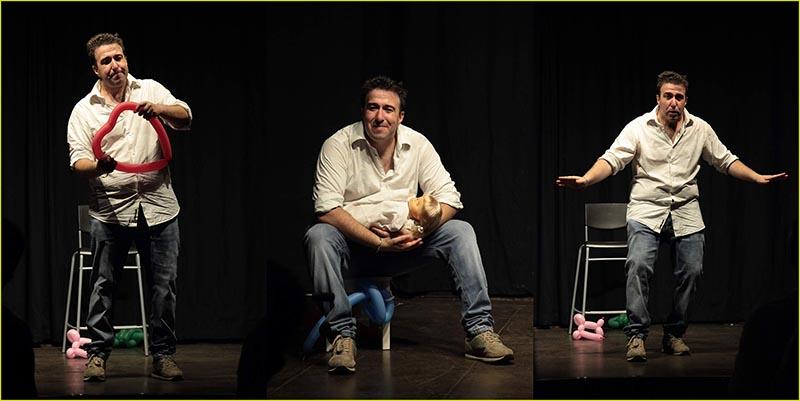 """Teatro Porta Portese presenta """"Sfigato tra le donne""""."""