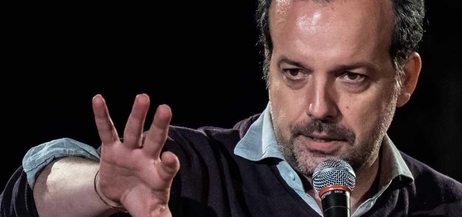 Ritratto Mario Perrotta © Luigi Burroni