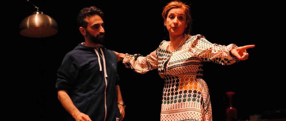 """Teatro Portaportese """"Lavoro di coppia""""."""