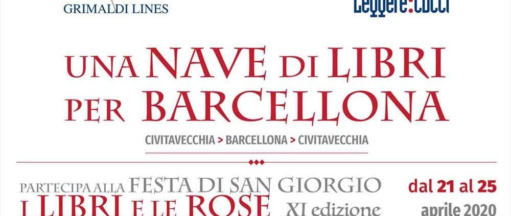 """""""La nave dei Libri per Barcellona""""."""
