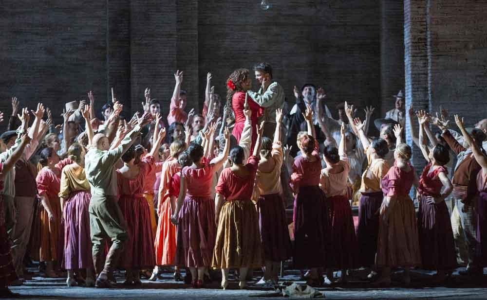 Carmen di Bizet, annullate le recite