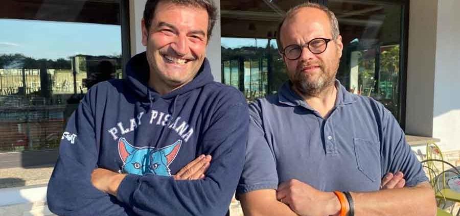 Max Giusti e Alessandro Rosciolo