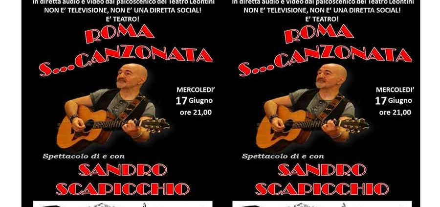 Sandro-Scapicchio-Roma-Scanzonata