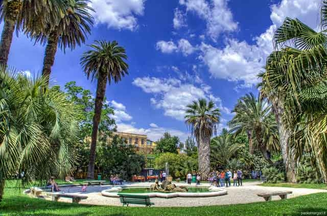 """Orto Botanico di Roma """"Classica al Tramonto"""""""