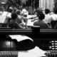 Ennio Morricone registra in sala A il film La sconosciuta 2006 ©Archivio Forum Music Village