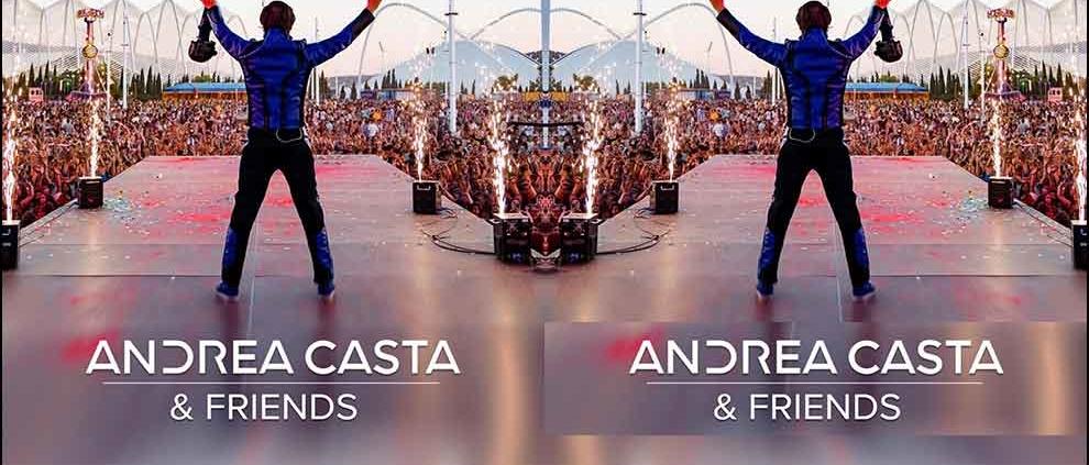 Andrea Casta riparte con un magico concerto al tramonto