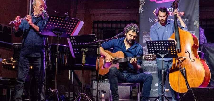 """""""Djazzvan Trio"""" al Museo del Sax."""
