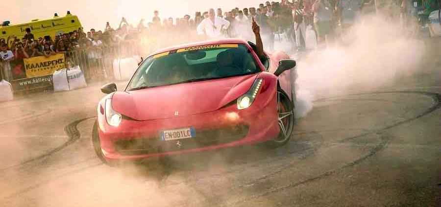 """""""Da Vinci Village"""" Fiumicino raduno Ferrari Therapy"""