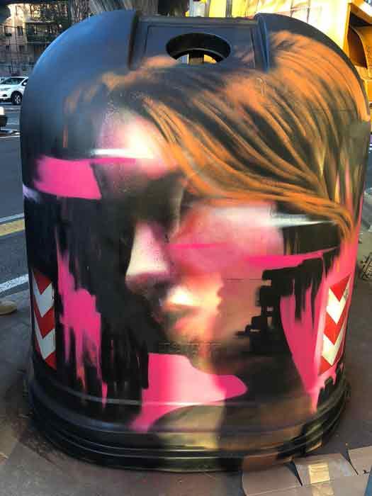 Gau Gallerie Urbane, Arte urbana a cielo aperto.