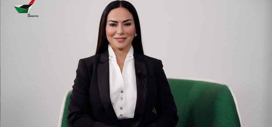 """Benedetta Paravia """"Hi Emirates"""" su Dubai One TV."""