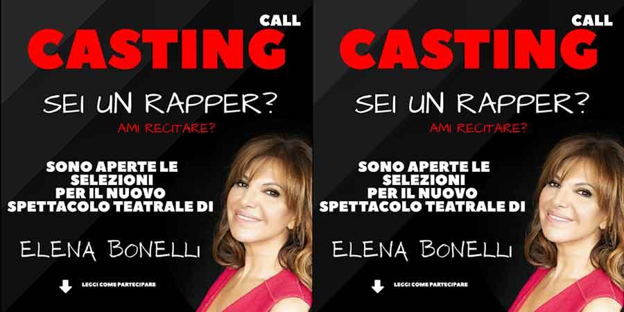 Elena Bonelli e Pino Quartullo cercano giovani rapper.