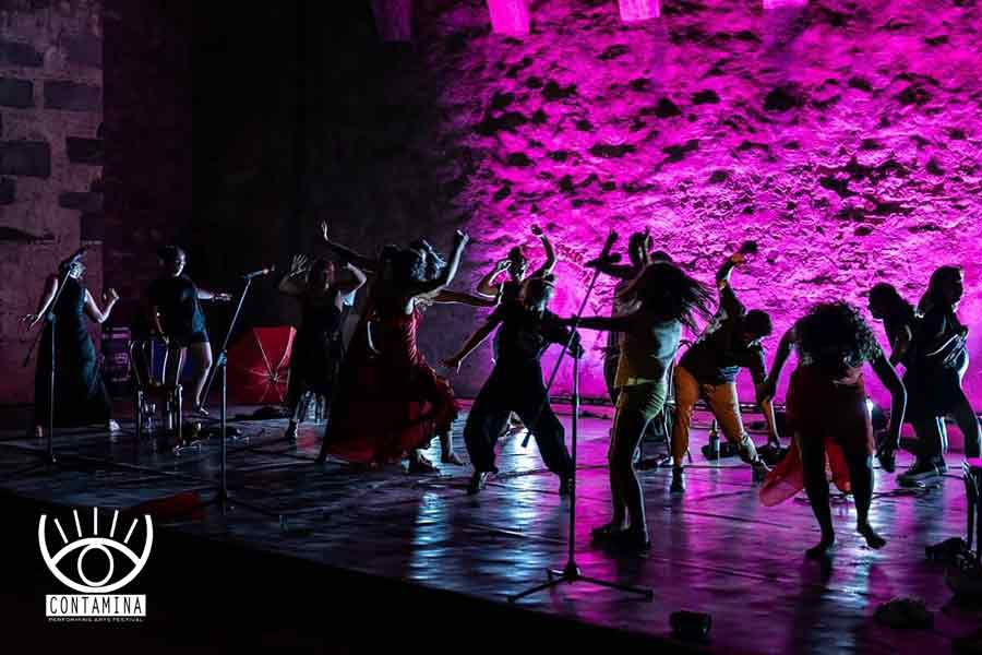 """Voci da Contamina"" Festival di arti performative."