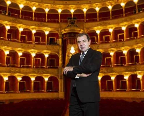 Il Maestro Daniele Gatti all'Opera di Roma