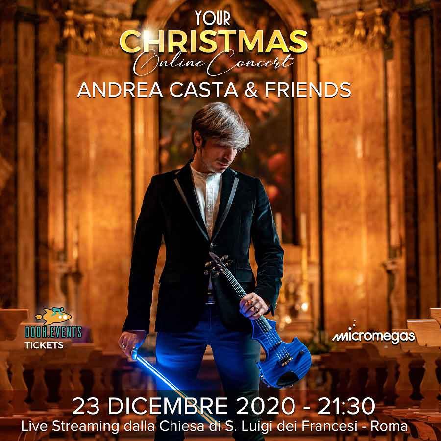 Andrea Casta & Friends a San Luigi Dei Francesi,