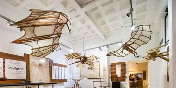 """Leonardo Da Vinci """"Virtual Tour della Mostra."""