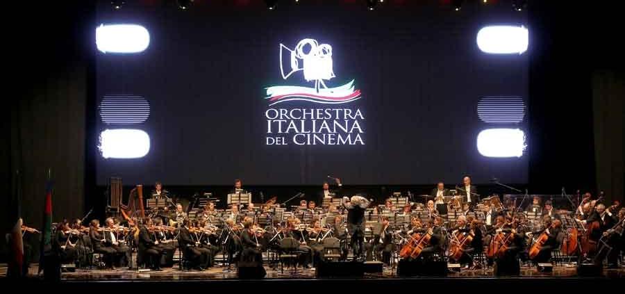 """Concerto di Natale 2020 """"Orchestra Italiana del Cinema"""""""