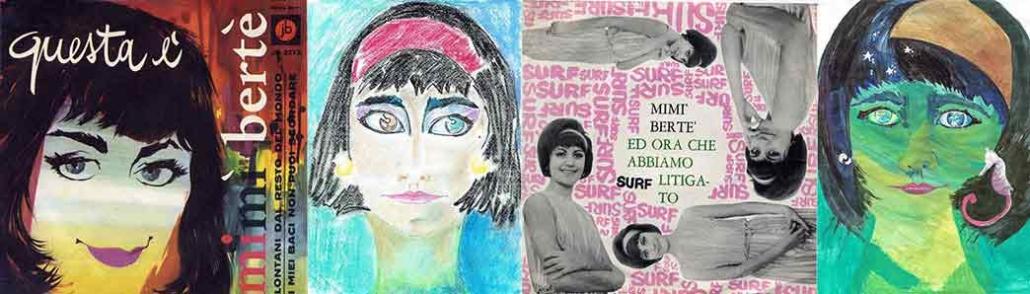 Mia Martini due vinili inediti di una giovanissima Mimi Bertè.