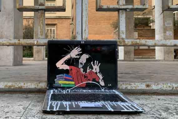 """Street Artist Laika """"2021"""": In presenza, in sicurezza."""