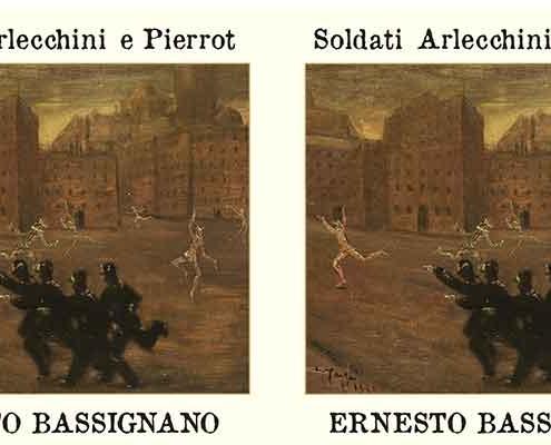 """Ernesto Bassignani, nuovo album """"Soldati Arlecchini e Pierrot""""."""