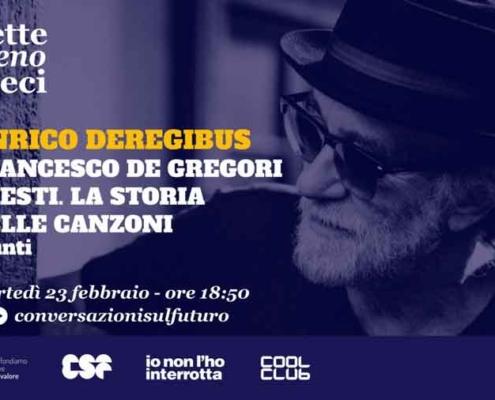 """Francesco De Gregori. """"I testi. La storia delle canzoni""""."""