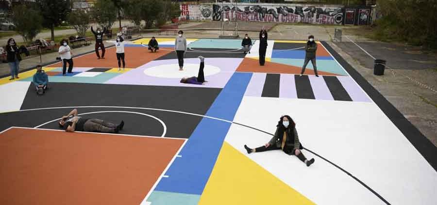 Cantieri San Paolo di street art e arte urbana.