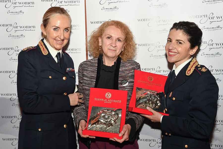 """Women for Women against violence – Camomilla Award""."