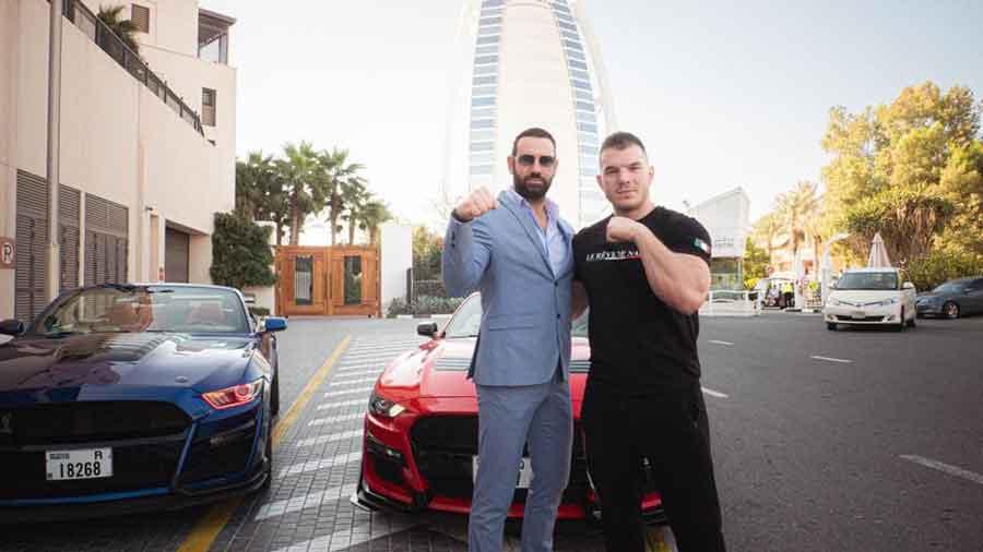 Sfida a Dubai Ermes Gasparini contro gli Strongman Internazionali.