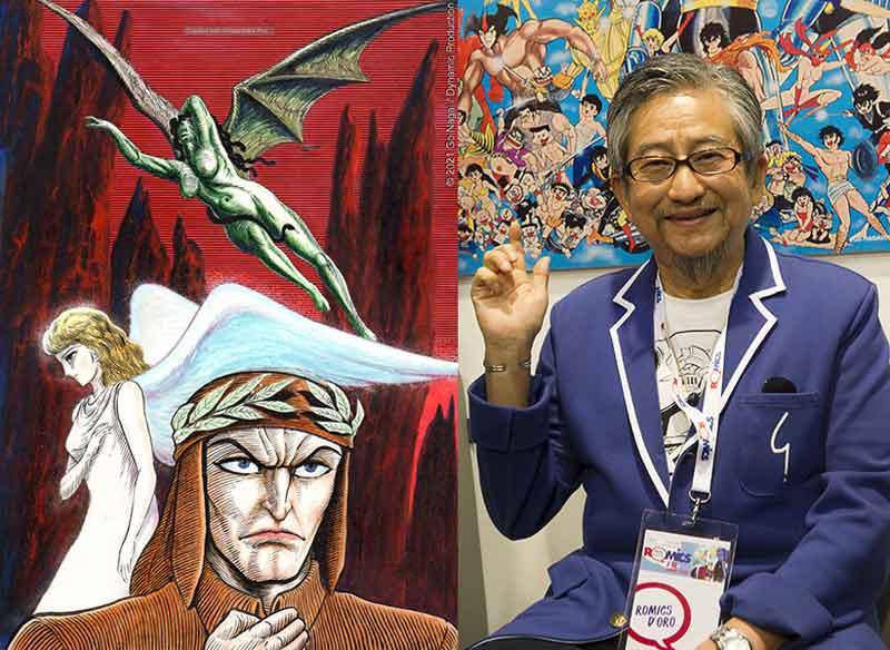 Dante attraverso l'immaginario artistico di Go Nagai.