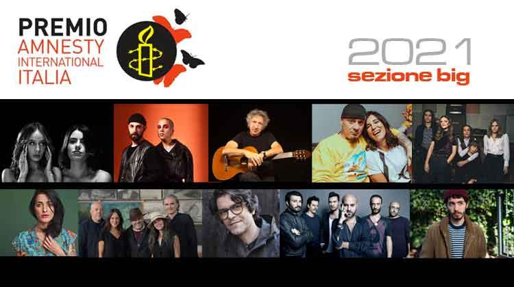 Diritti Umani Premio Amnesty le 10 canzoni in gara .