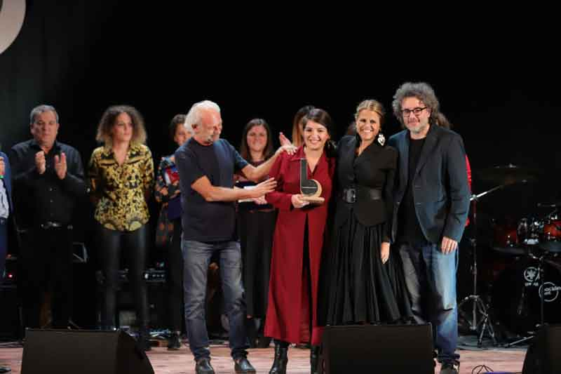 "17° Premio Bianca D'Aponte ""Cantautrici""."