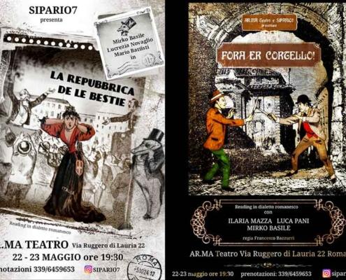 "AR.MA Teatro presenta ""Fora er cortello""."