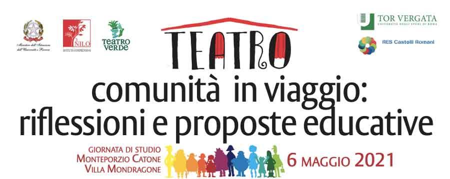 Teatro Comunità Educante Villa Mondragone – Monte Porzio Catone.